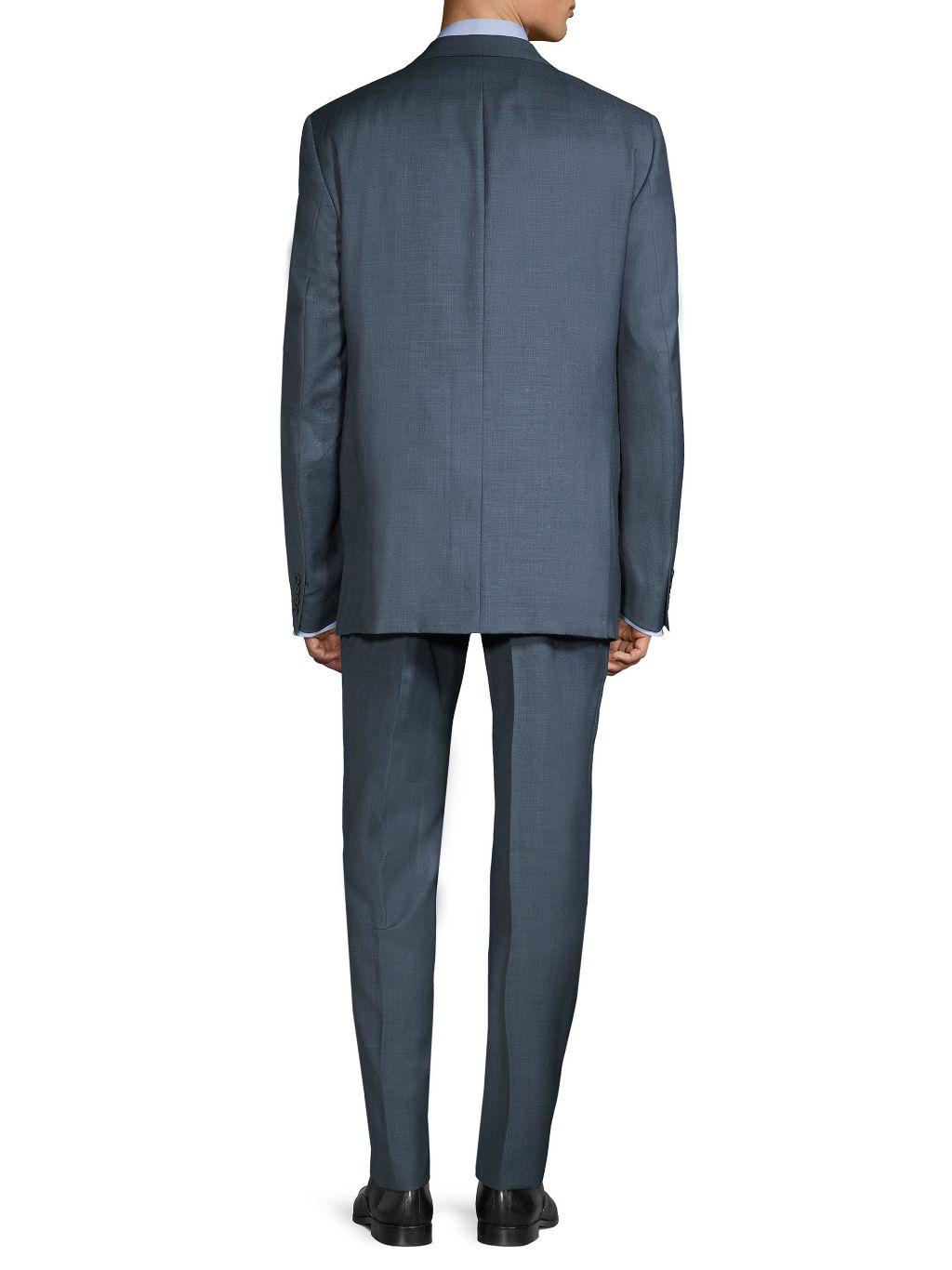 Calvin Klein Slim-Fit Wool Suit