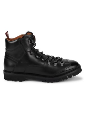 Bally Leathers Charls Leather Hiking Boots