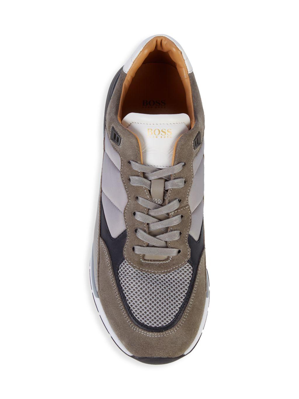 Boss Hugo Boss Element Round-Toe Sneakers