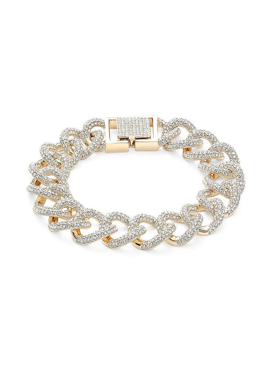 Women's Goldtone & Crystal Bracelet
