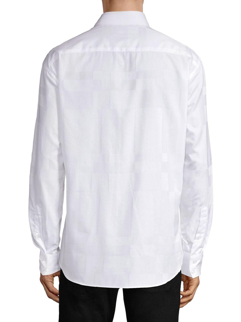 Bertigo Woven Checker Shirt