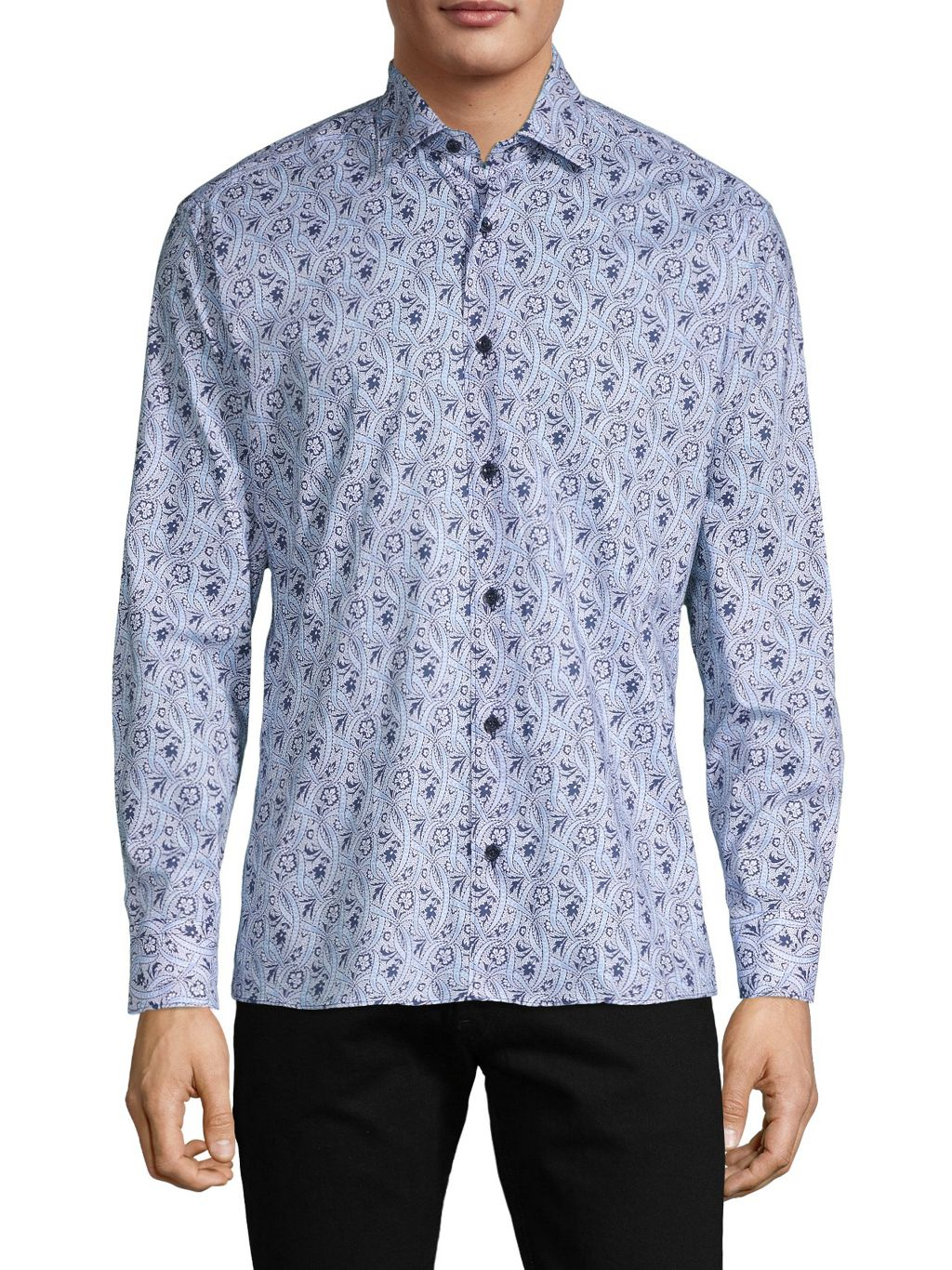 Bertigo Floral-Print Shirt