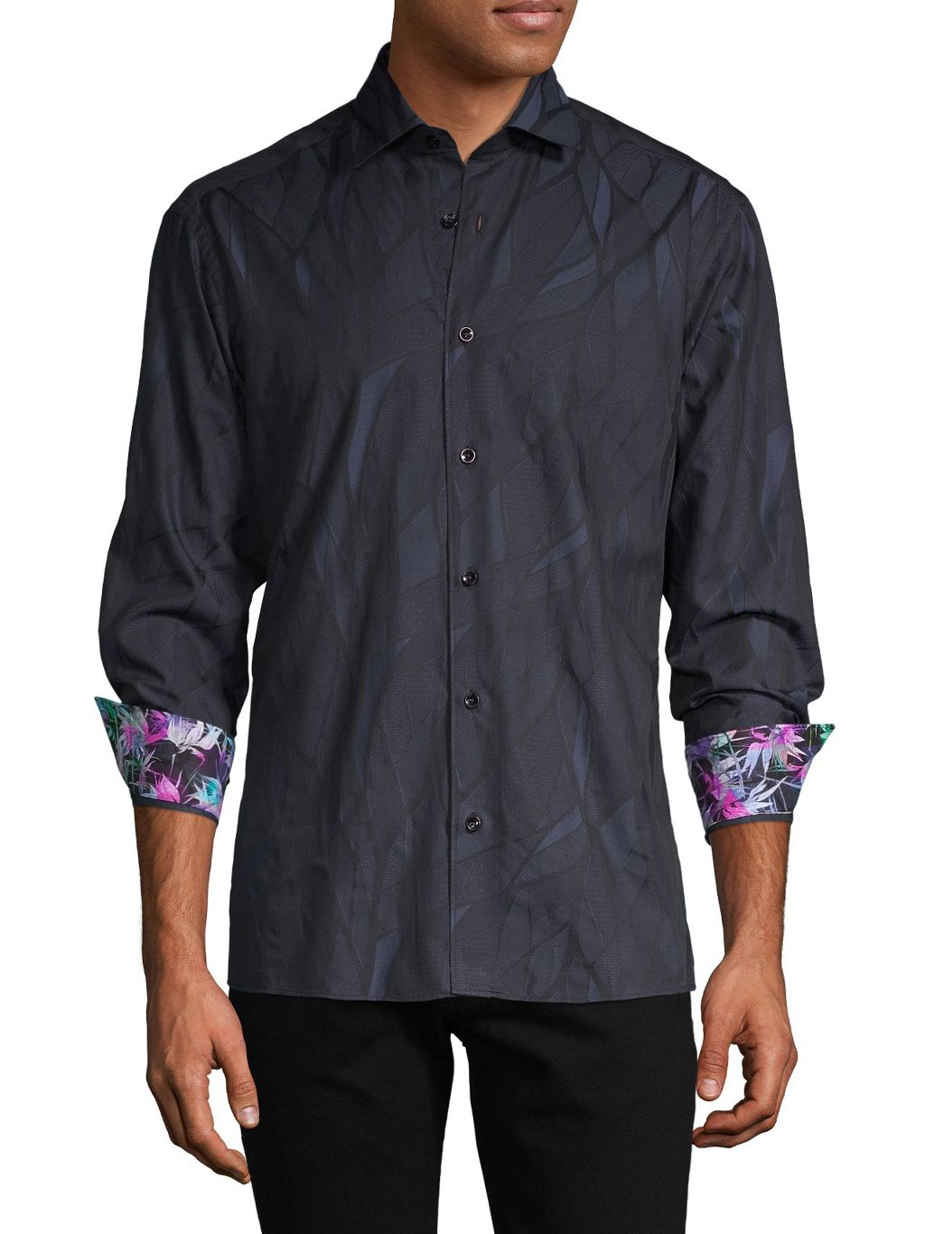 Bertigo Tonal-Print Shirt