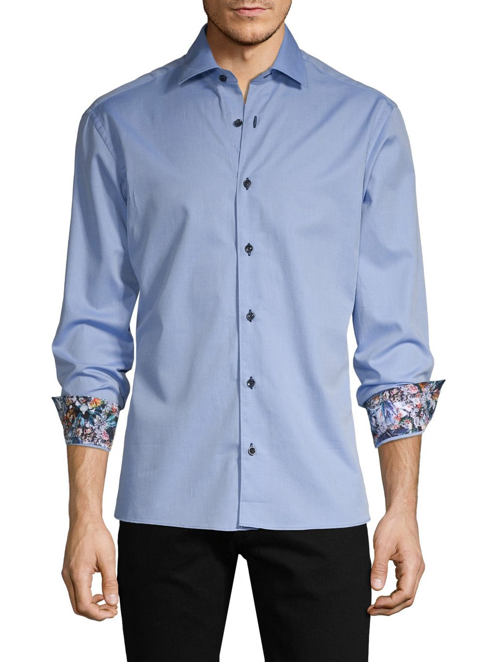 Bertigo High-Low Long-Sleeve Shirt