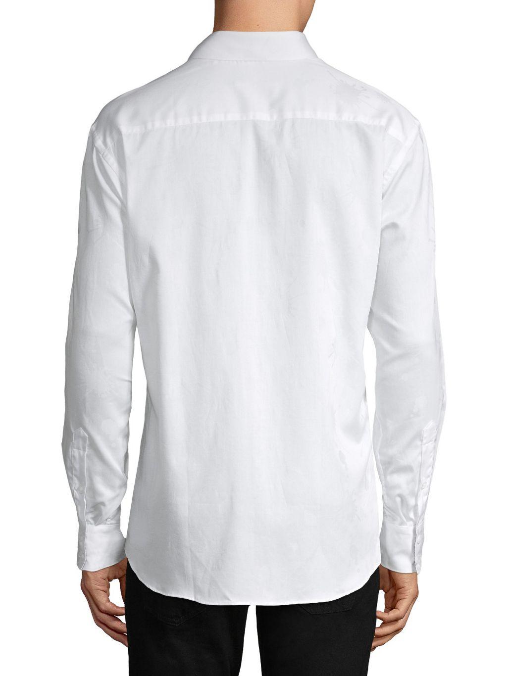 Bertigo Darvin Tonal-Patterned Shirt