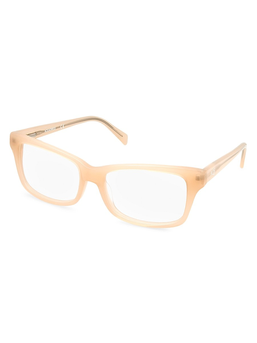 Women's Sylvester 51MM Square Optical Glasses
