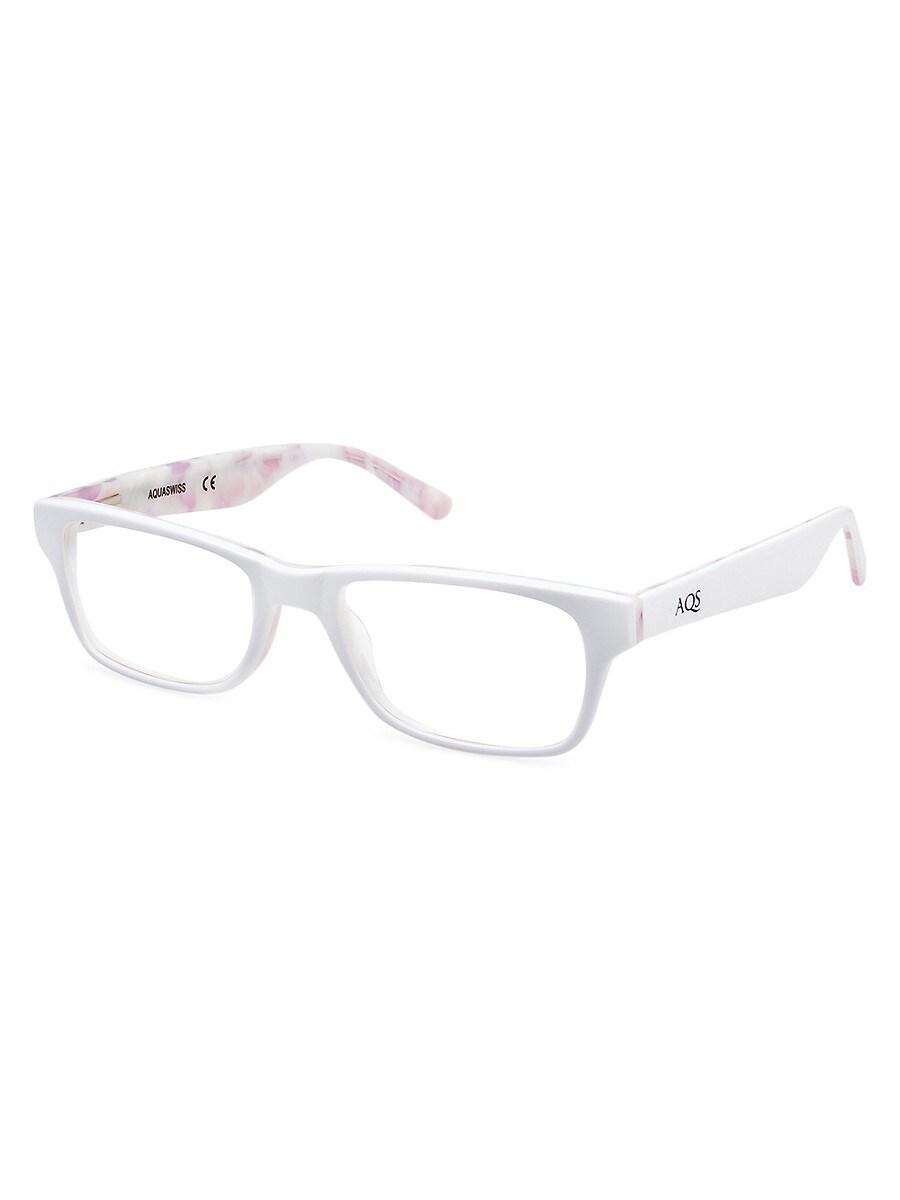 Women's Dru 48MM Square Optical Glasses