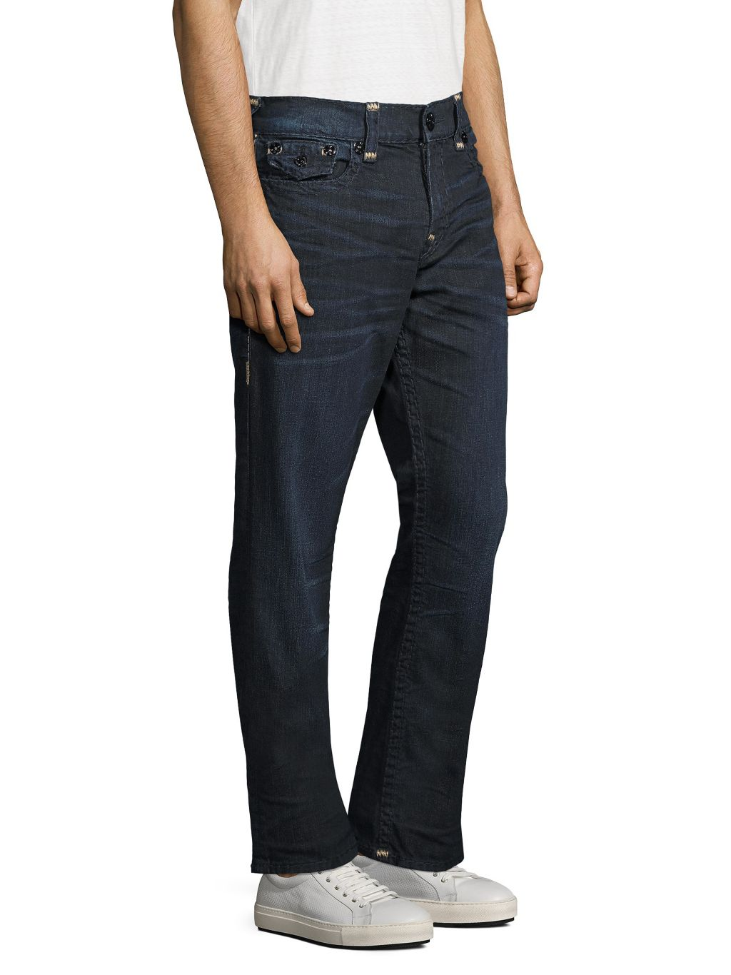 True Religion Relaxed Straight-Fit Jeans