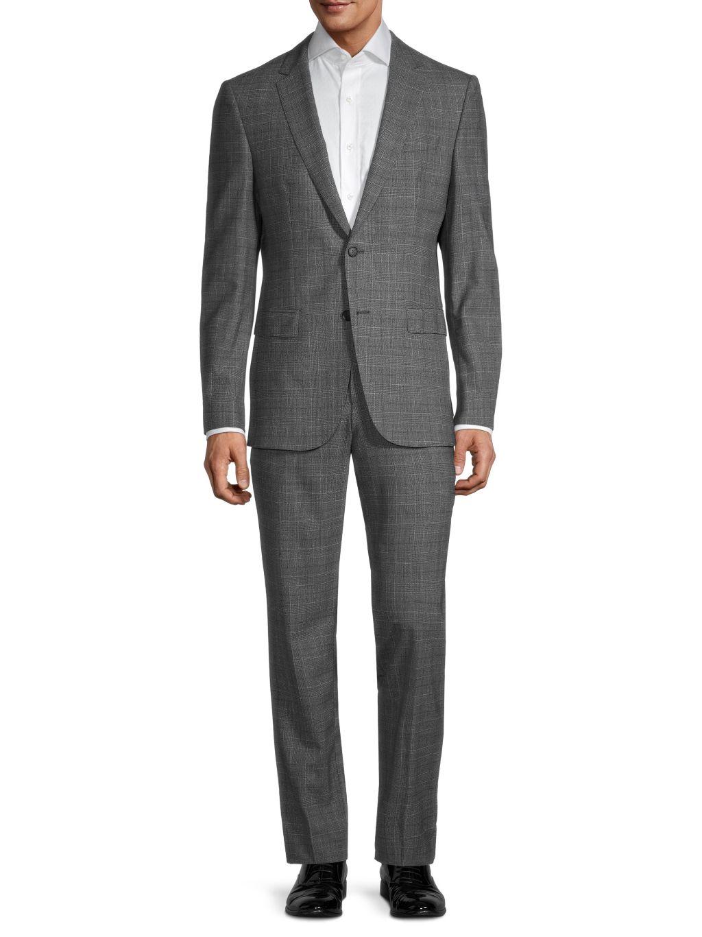 Hugo Boss Travel Nestro/Byte Regular-Fit Wool Suit