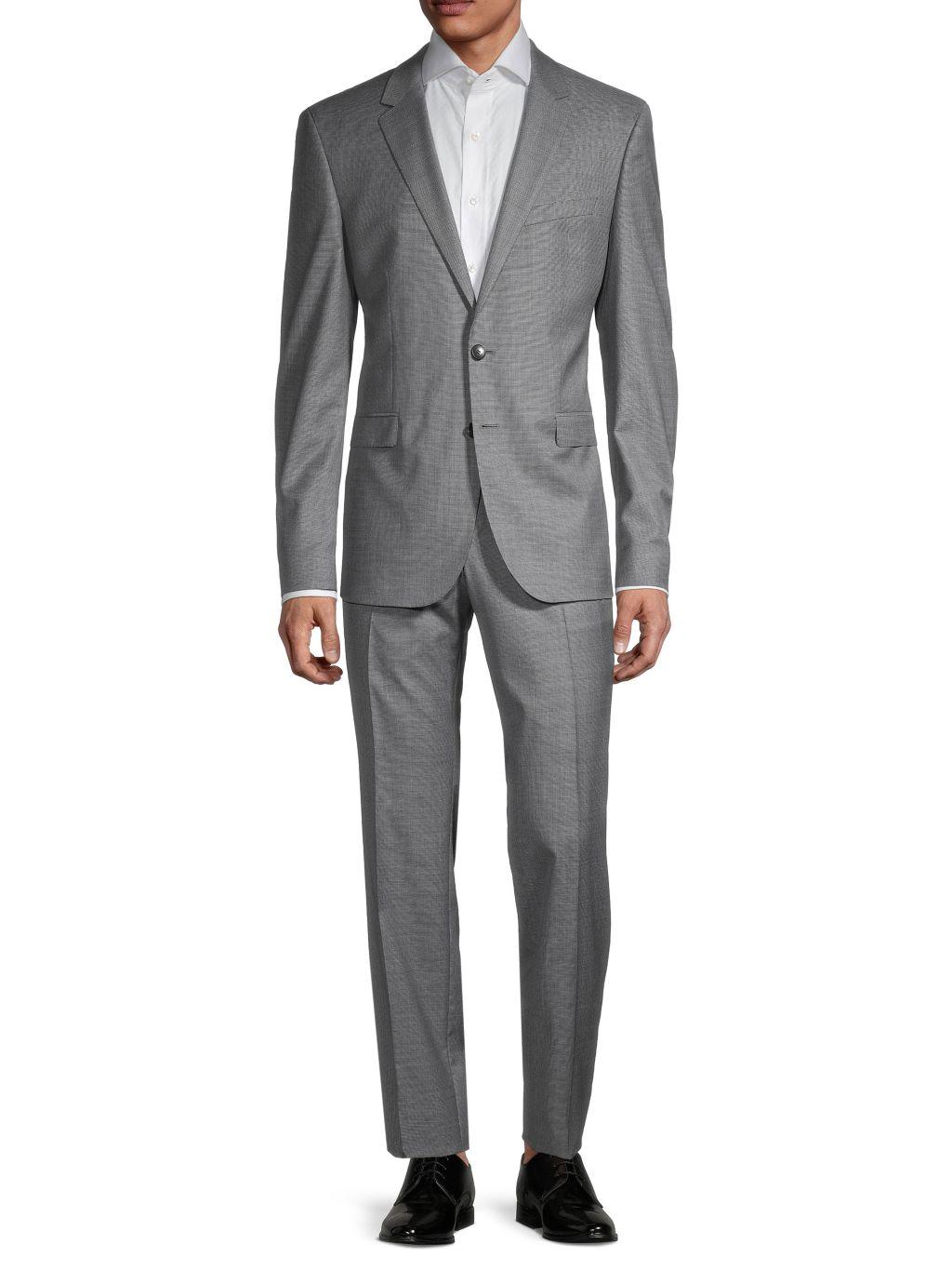 Boss Hugo Boss Ryan Regular-Fit Virgin Wool Suit