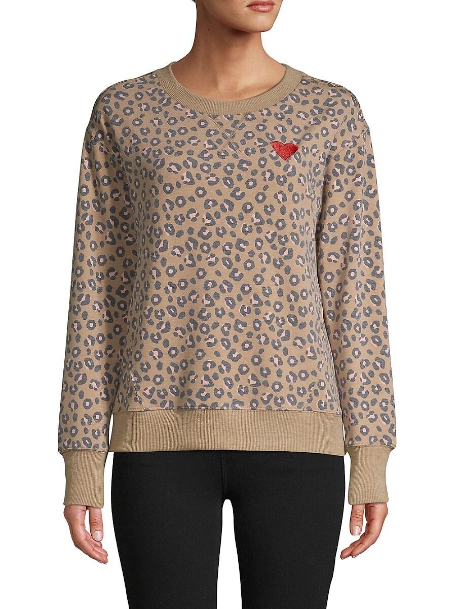 Women's Weekending Leopard Pullover