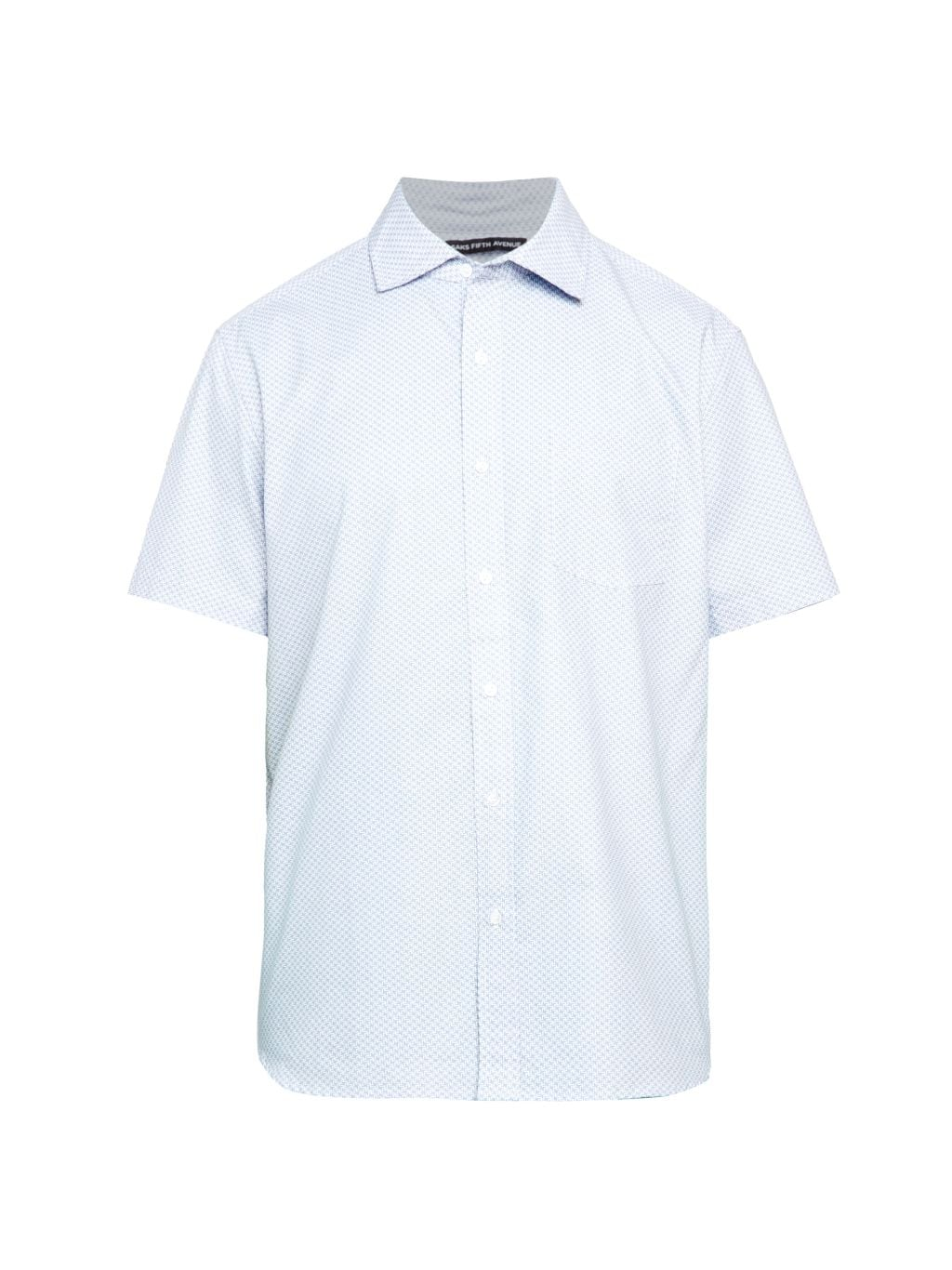 Saks Fifth Avenue Geometric-Print Shirt