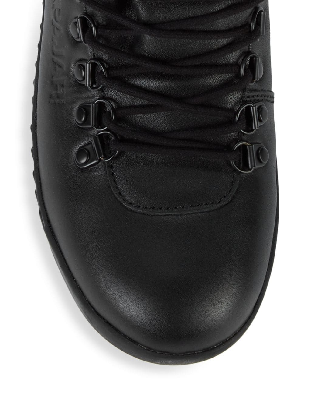 Pajar Canada Pacer Faux Fur-Lined Leather Sneaker Boots