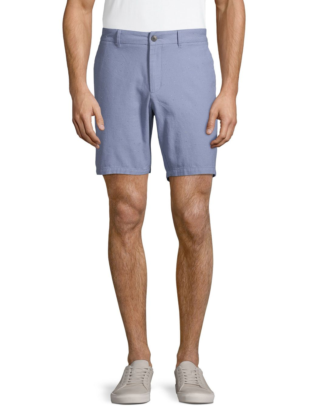 Saks Fifth Avenue Textured Stretch-Cotton Shorts