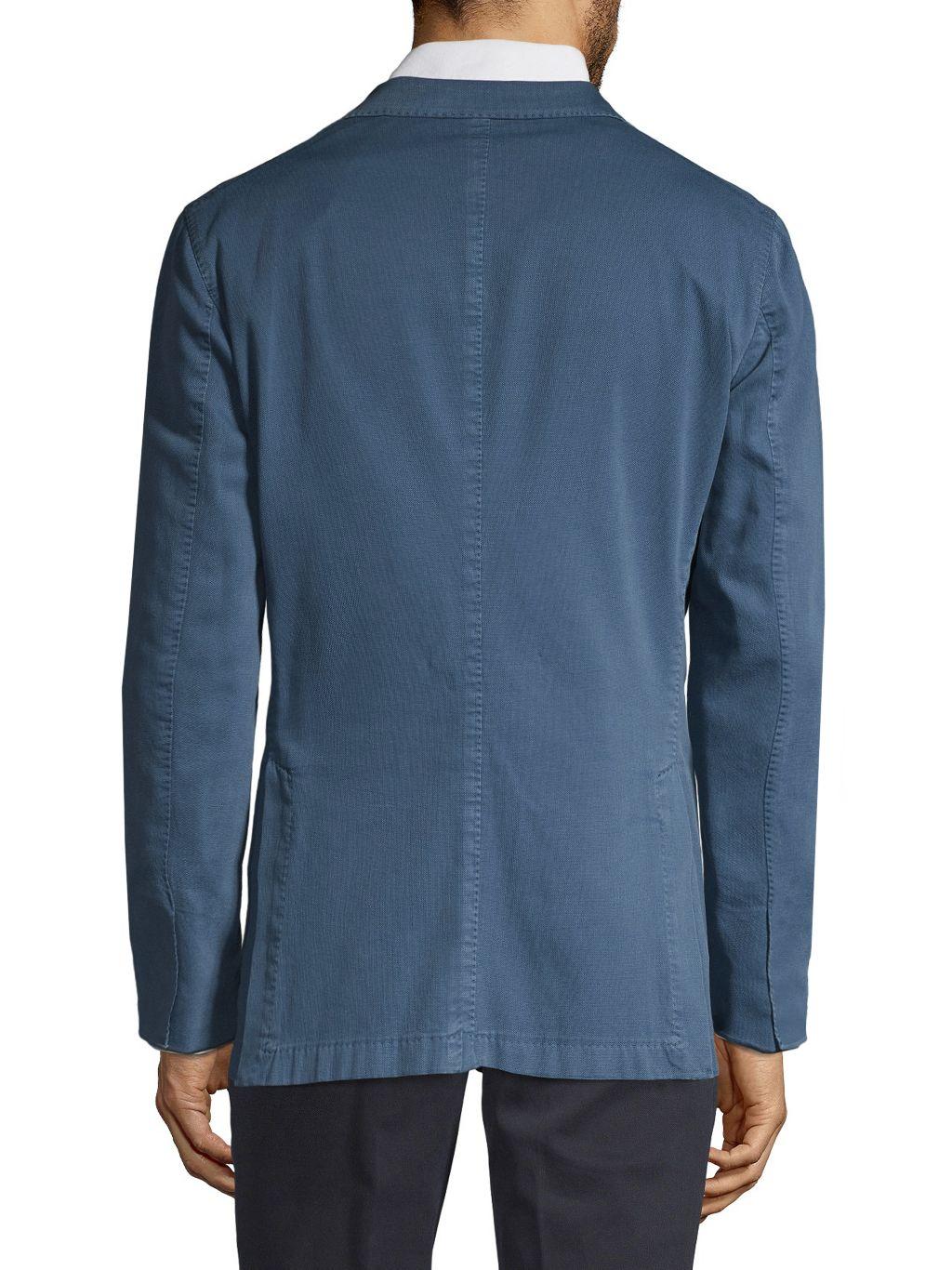 Boglioli Stretch-Cotton Sportcoat
