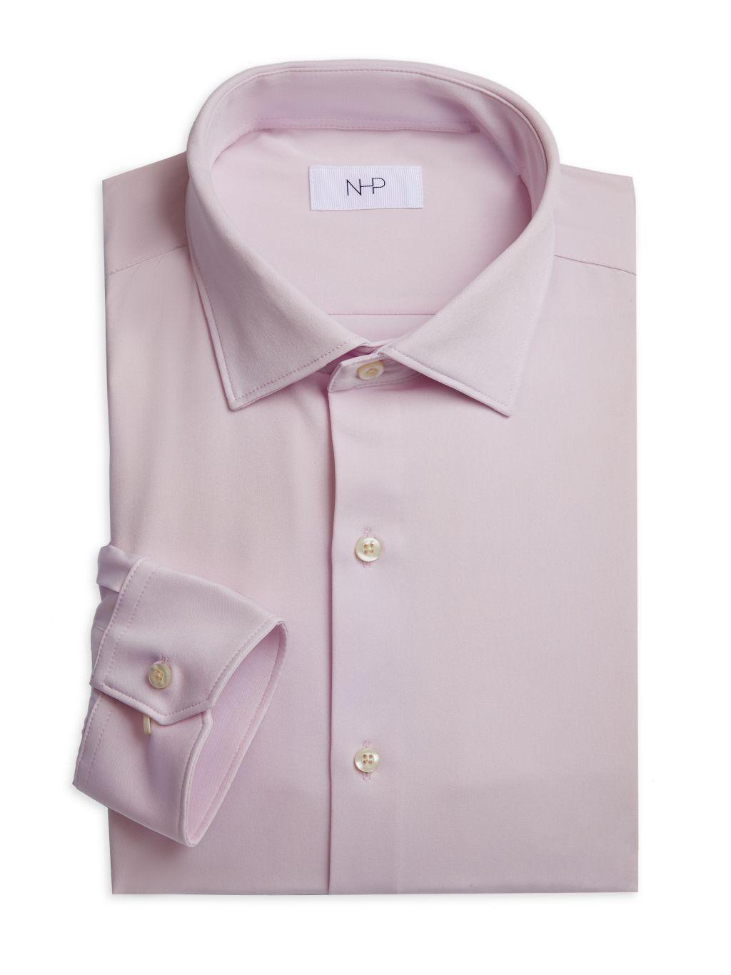 NHP Trim-Fit Dress Shirt