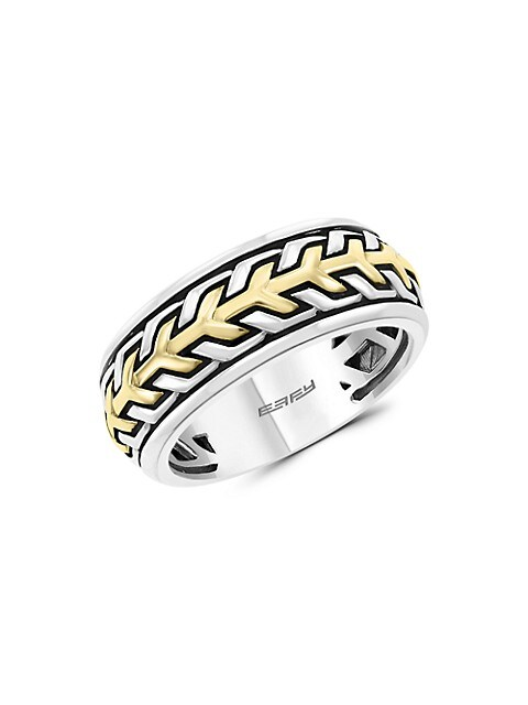 Effy Goldplated & Sterling Silver Ring