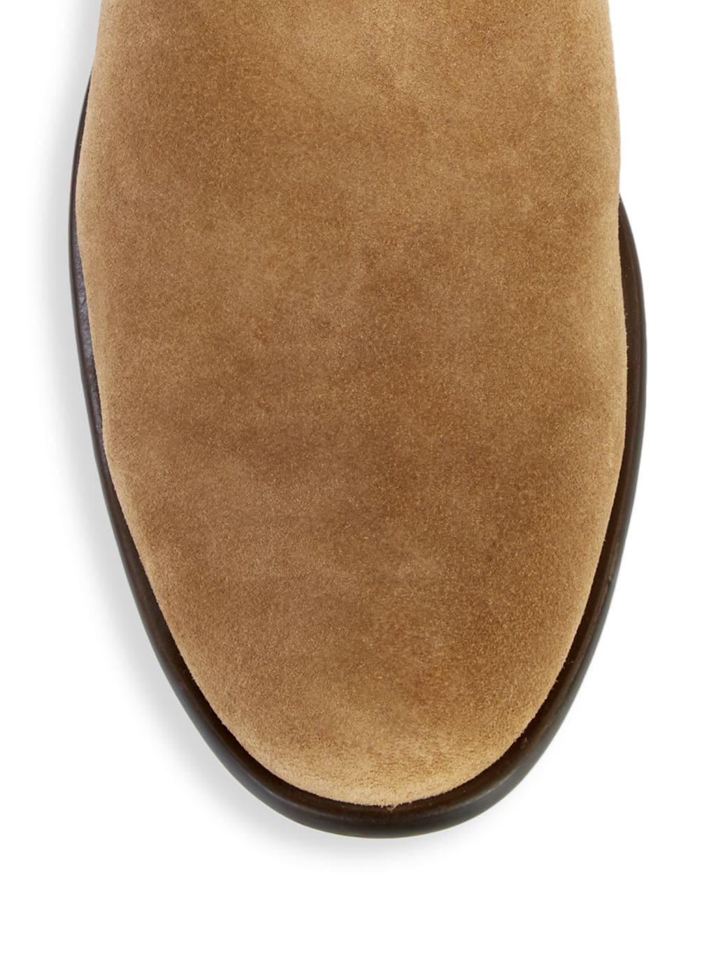 John Varvatos Star U.S.A. Suede Chelsea Boots
