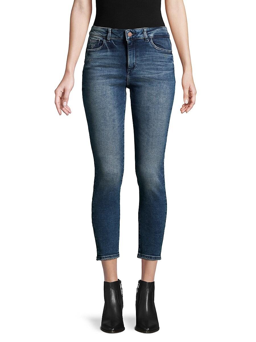 DL1961 Premium Denim Women's Florence Cropped Skinny Jeans