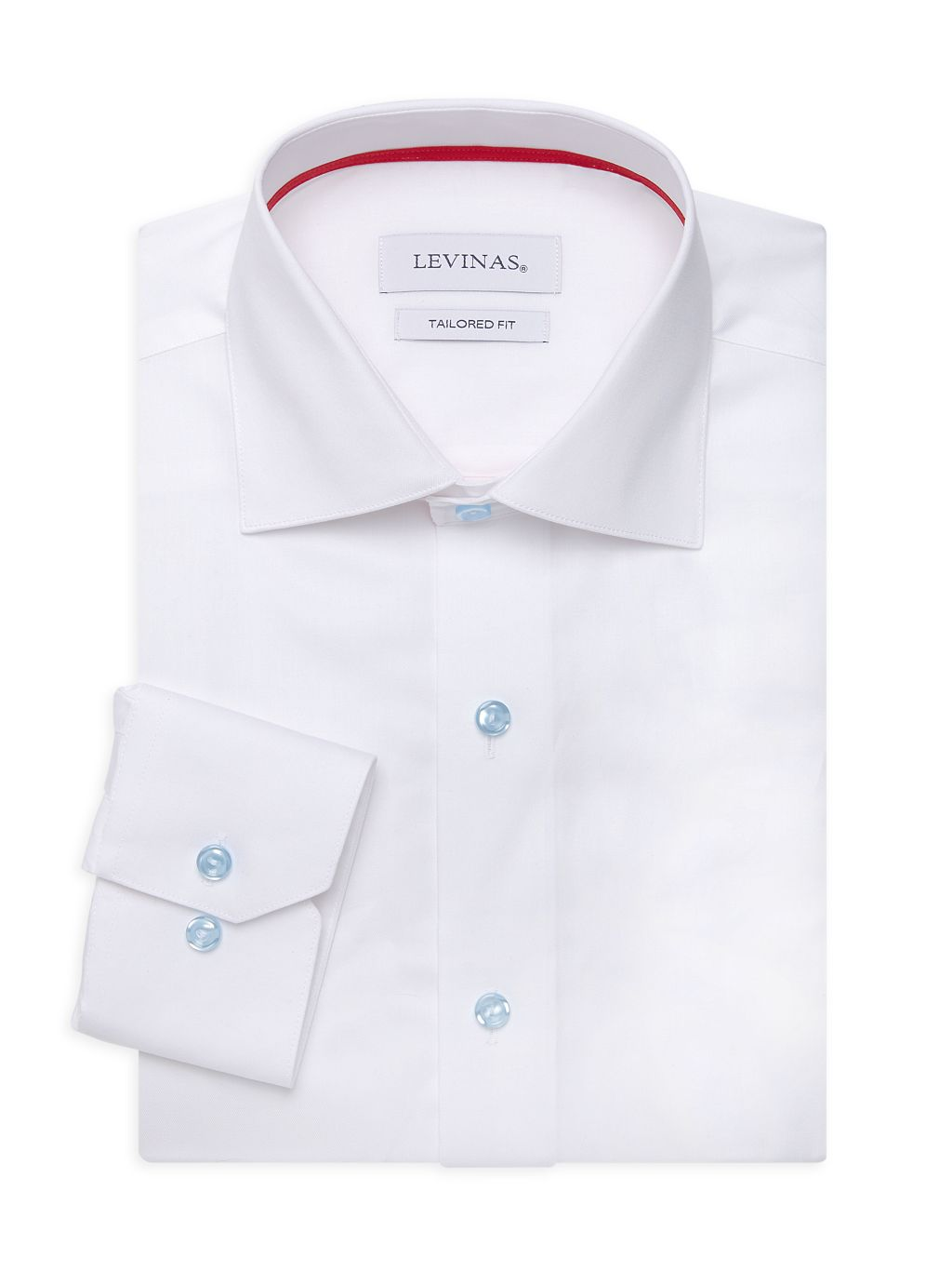 Levinas Tailored-Fit Dress Shirt