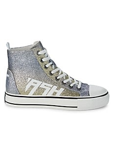 아쉬 스니커즈 ASH Glover High-Top Glitter Sneakers