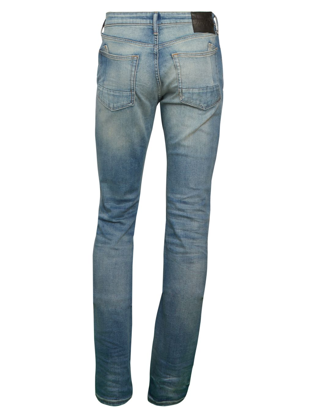 Prps Le Sabre Slim-Tapered-Fit Bleached Distressed Jeans