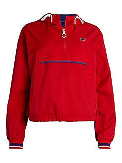 Tommy Hilfiger Sport Twill Pullover Women's Jacket
