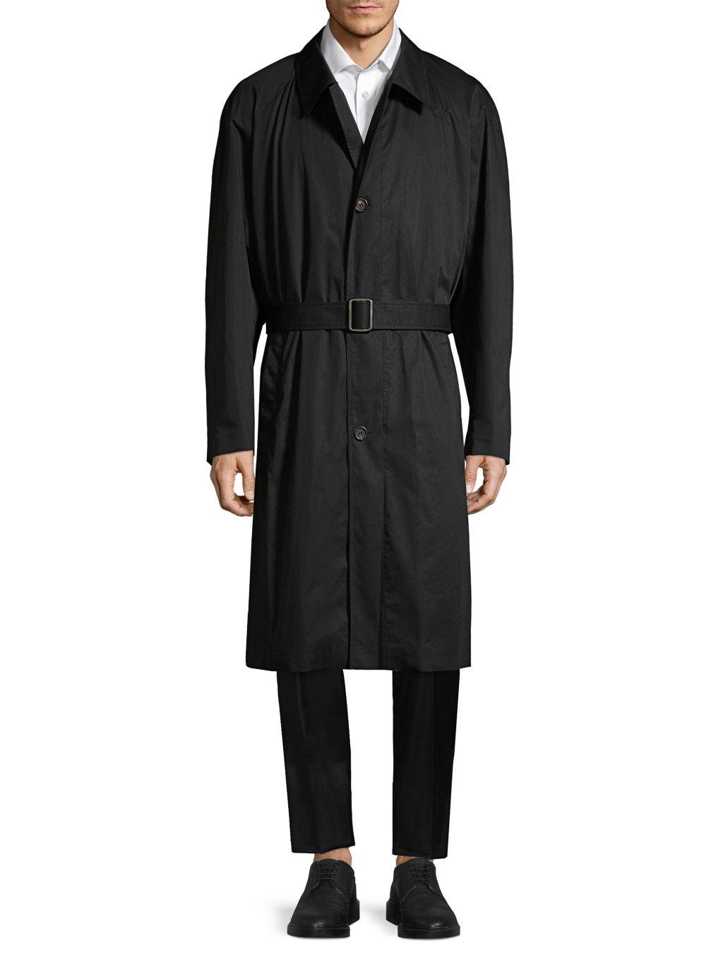 HUGO Marco Oversized Cotton Trench Coat