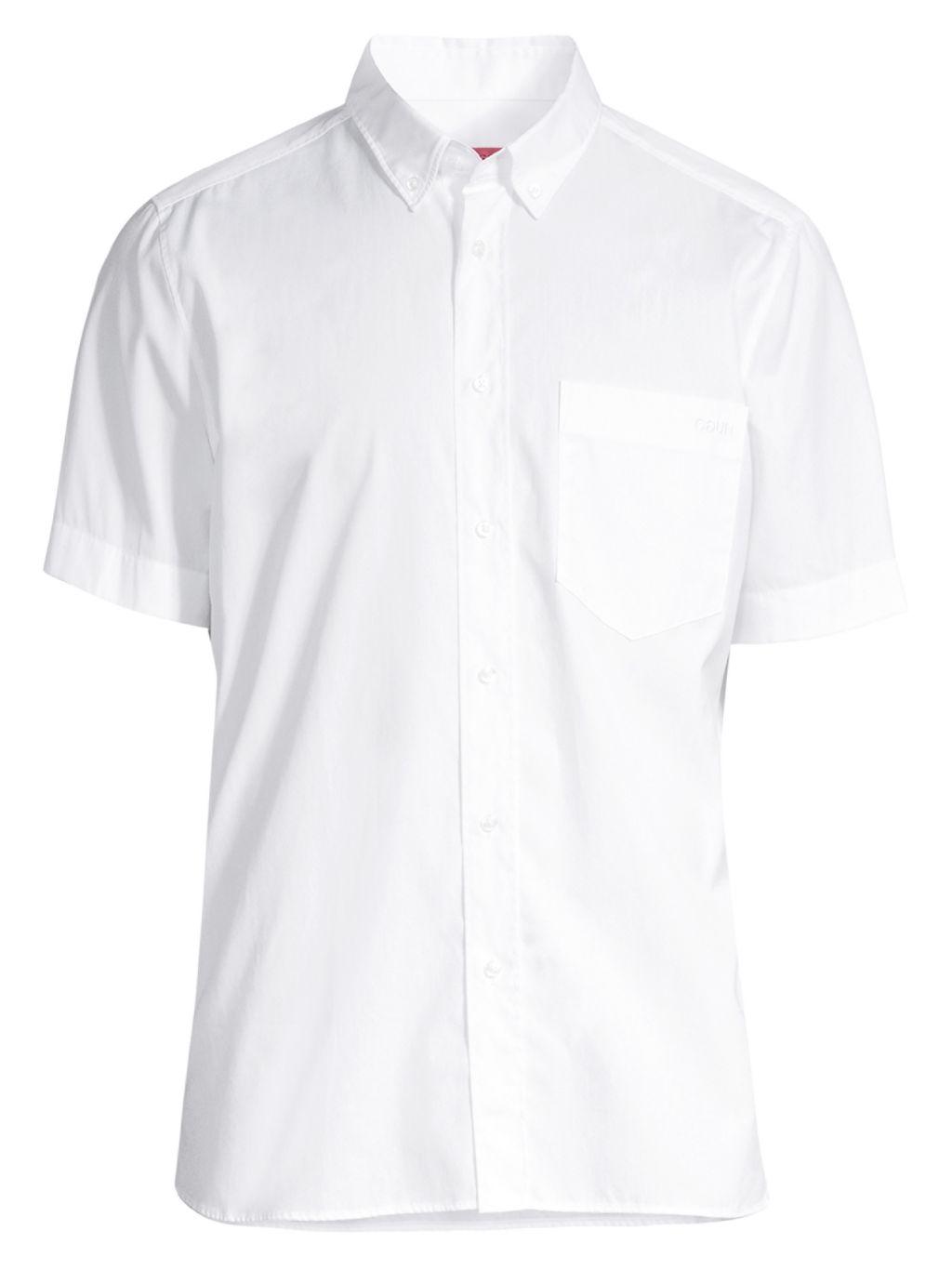 HUGO Ekilio Short-Sleeve Logo Shirt