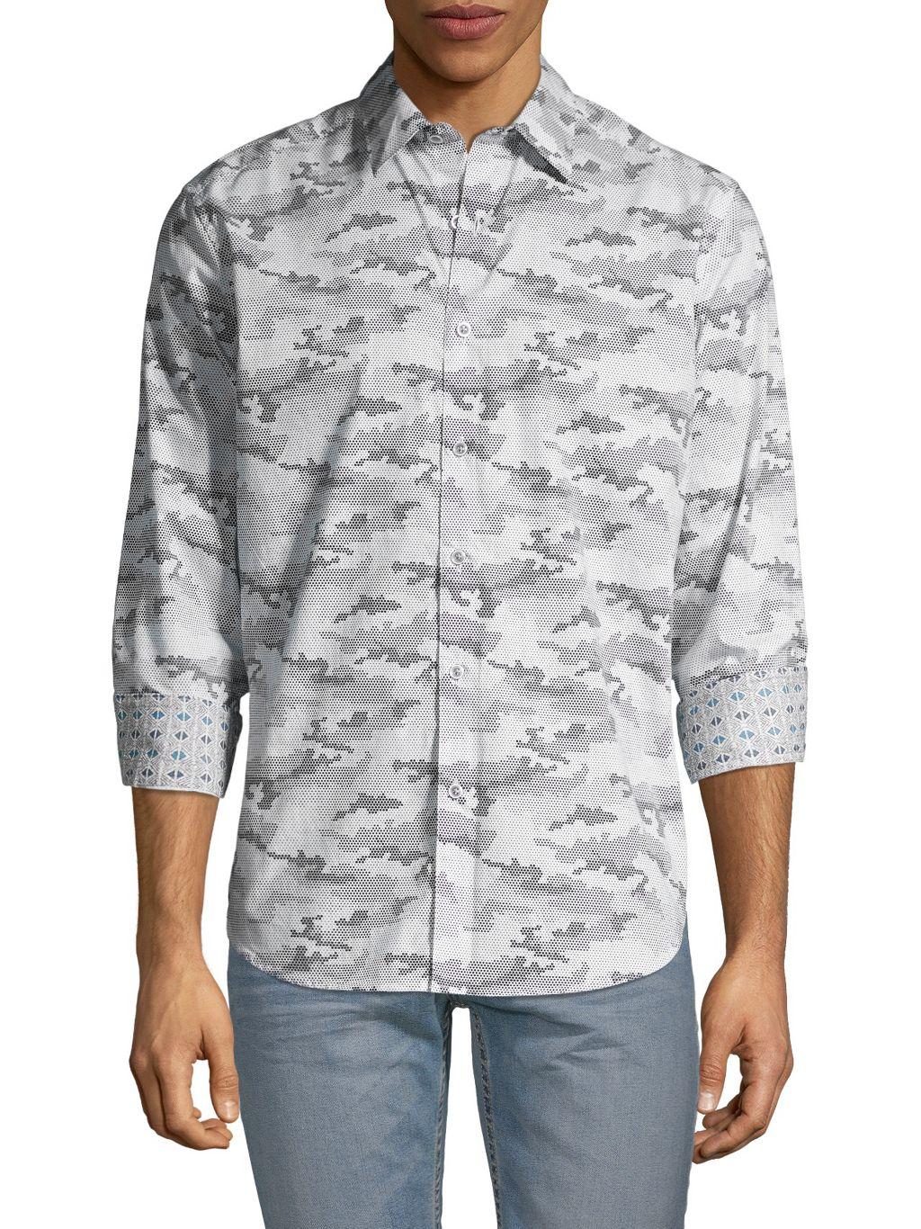 Robert Graham Classic-Fit Graphic Shirt