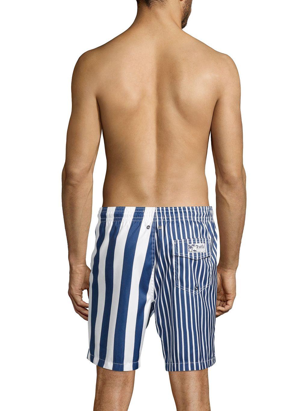 Trunks Surf + Swim Striped Swim Shorts