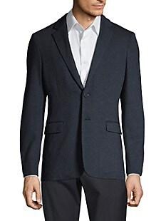 띠어리 Theory Clinton Marled Ponte Suit Jacket,ECLIPSE NAVY MELANGE