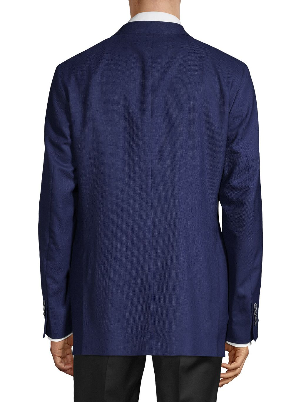 Saks Fifth Avenue Made in Italy Standard-Fit Wool & Silk High Performance Suit Jacket