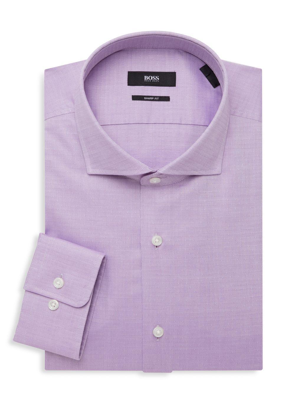 Boss Hugo Boss Sharp-Fit Woven Dress Shirt