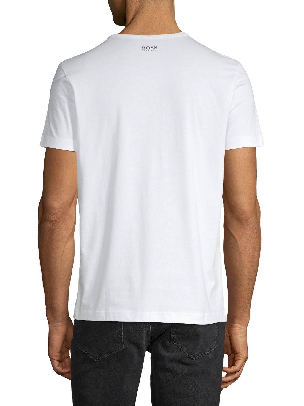 Boss Hugo Boss Cuts Logo T-Shirt