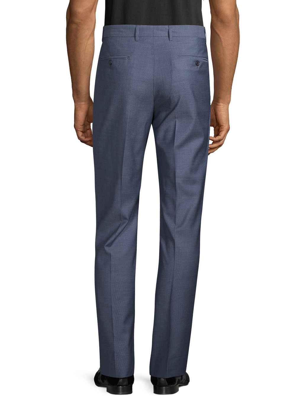 Saks Fifth Avenue Made in Italy Standard-Fit Wool Pants