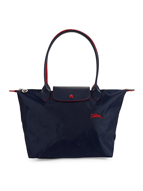 Longchamp Leathers LE PLIAGE CLUB FOLDABLE NYLON SHOULDER BAG