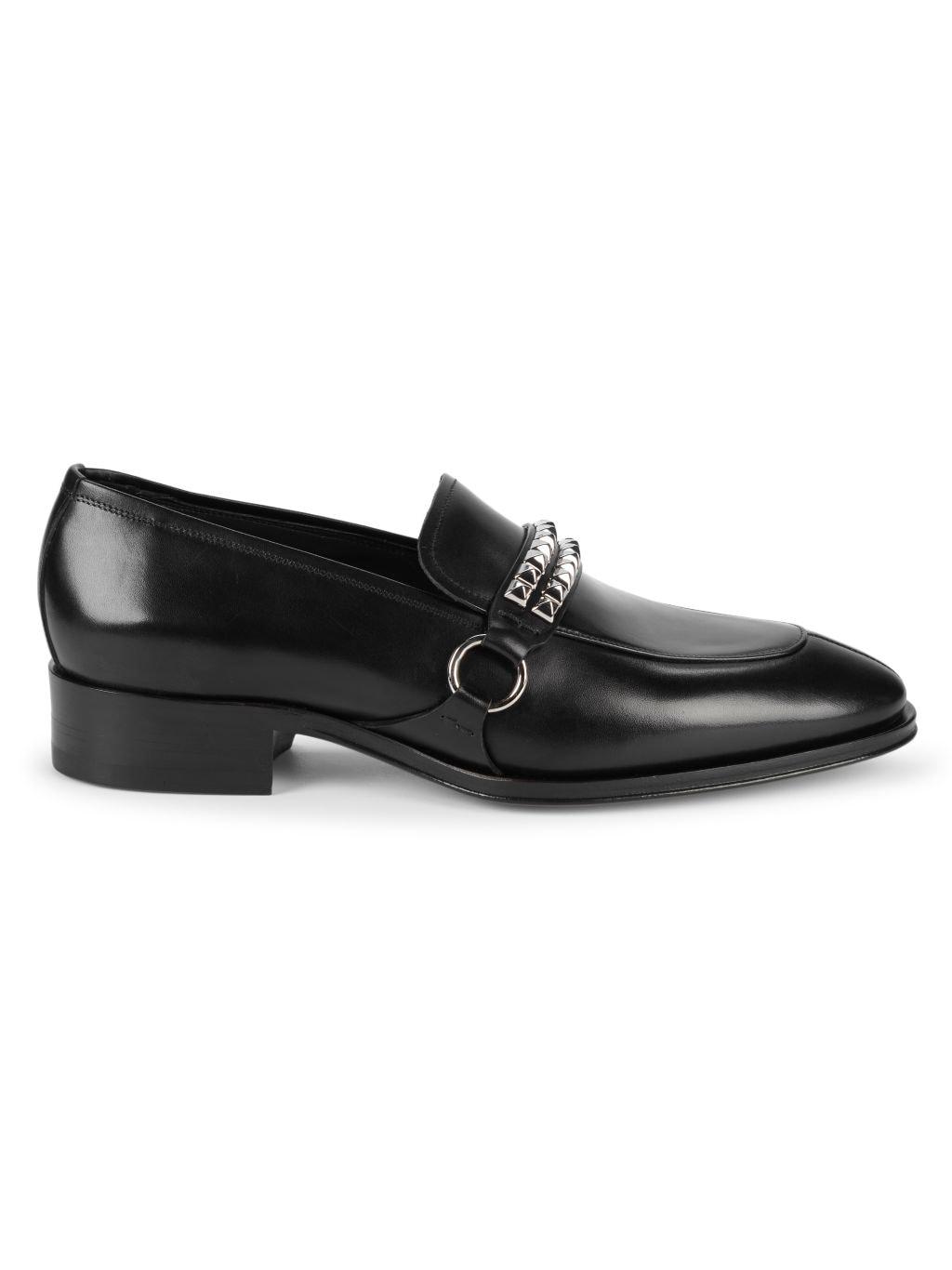 Giuseppe Zanotti Studded Leather Loafers