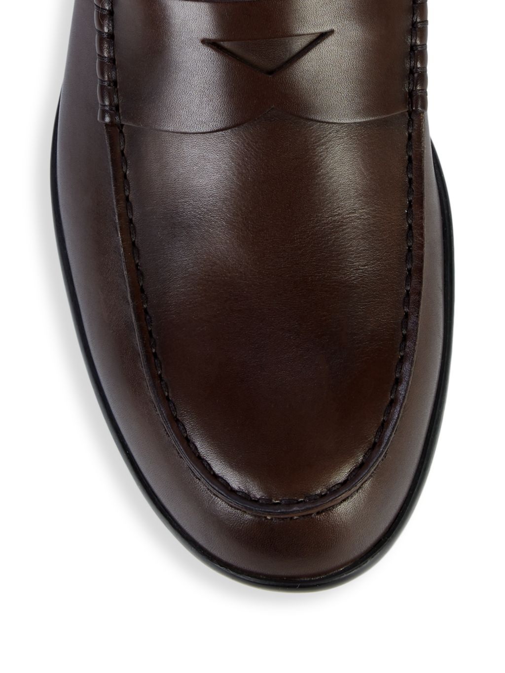 Tod's Fondo Leather Penny Loafers