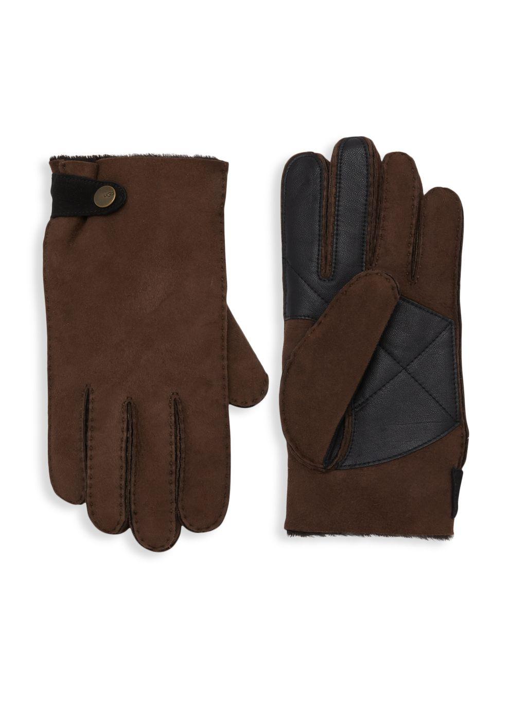UGG Slim-Fit Sheepkin Gloves