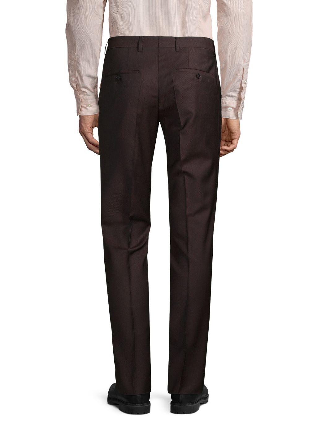 Boss Hugo Boss Genesis Slim-Fit Virgin Wool Dress Pants