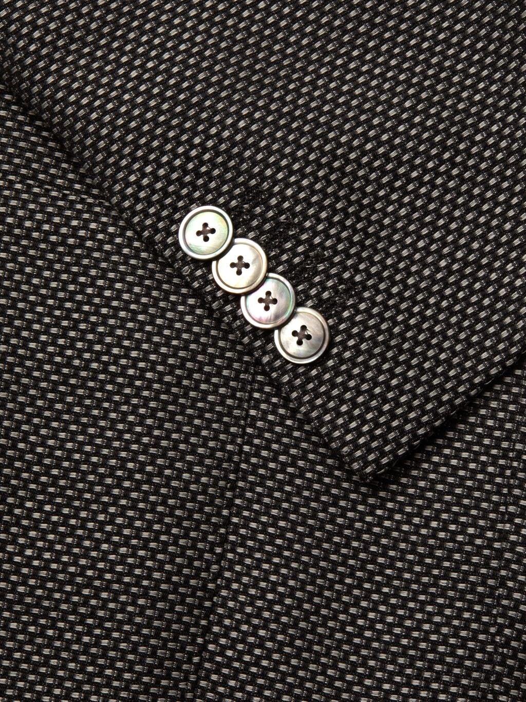 Boss Hugo Boss Lanificio Tesse Biella Regular-Fit Textured Wool Jacket