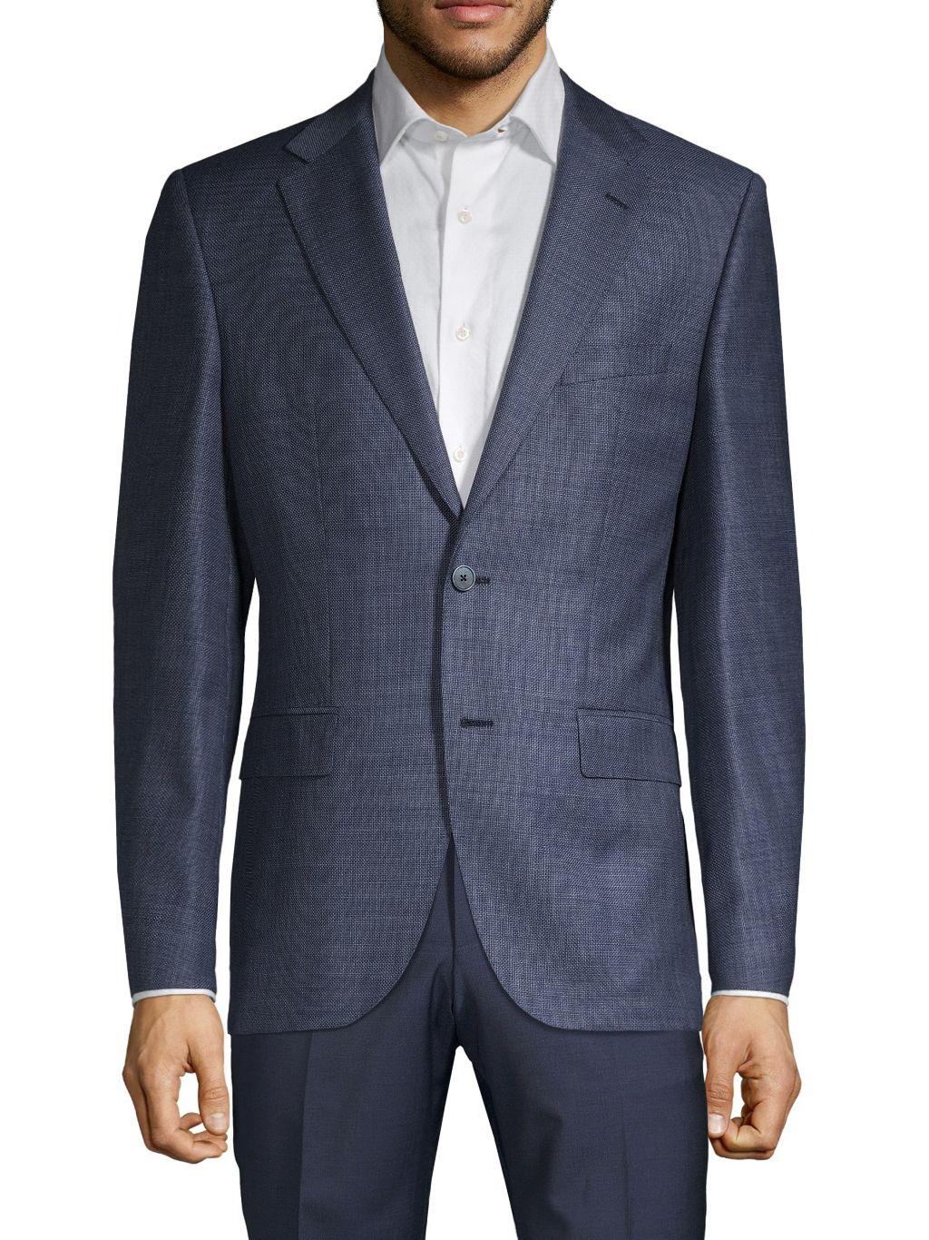 Boss Hugo Boss Tesse Regular-Fit Wool Suit Jacket