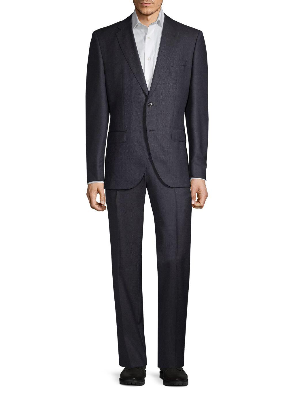 Boss Hugo Boss Regular-Fit Virgin Wool Suit