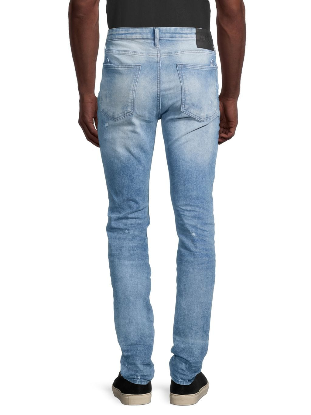 Prps Hondo Windsor-Fit Low-Rise Distressed Skinny Jeans