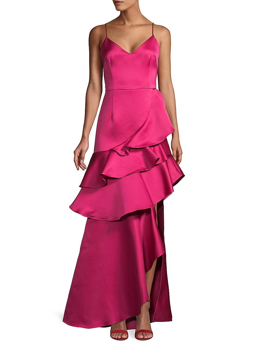 Flor et. al Women's Oates Duchess Satin Gown