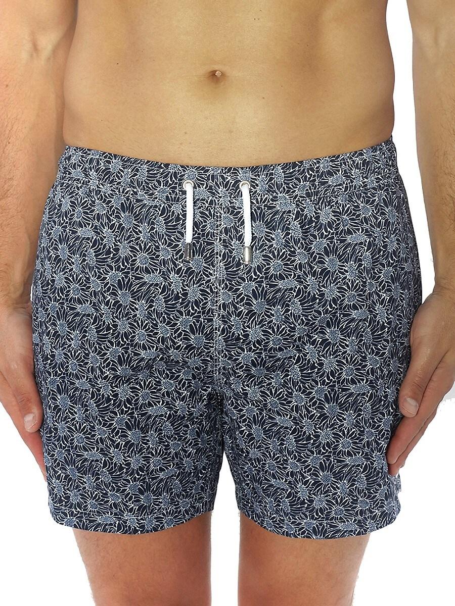 Men's Floral Swim Shorts