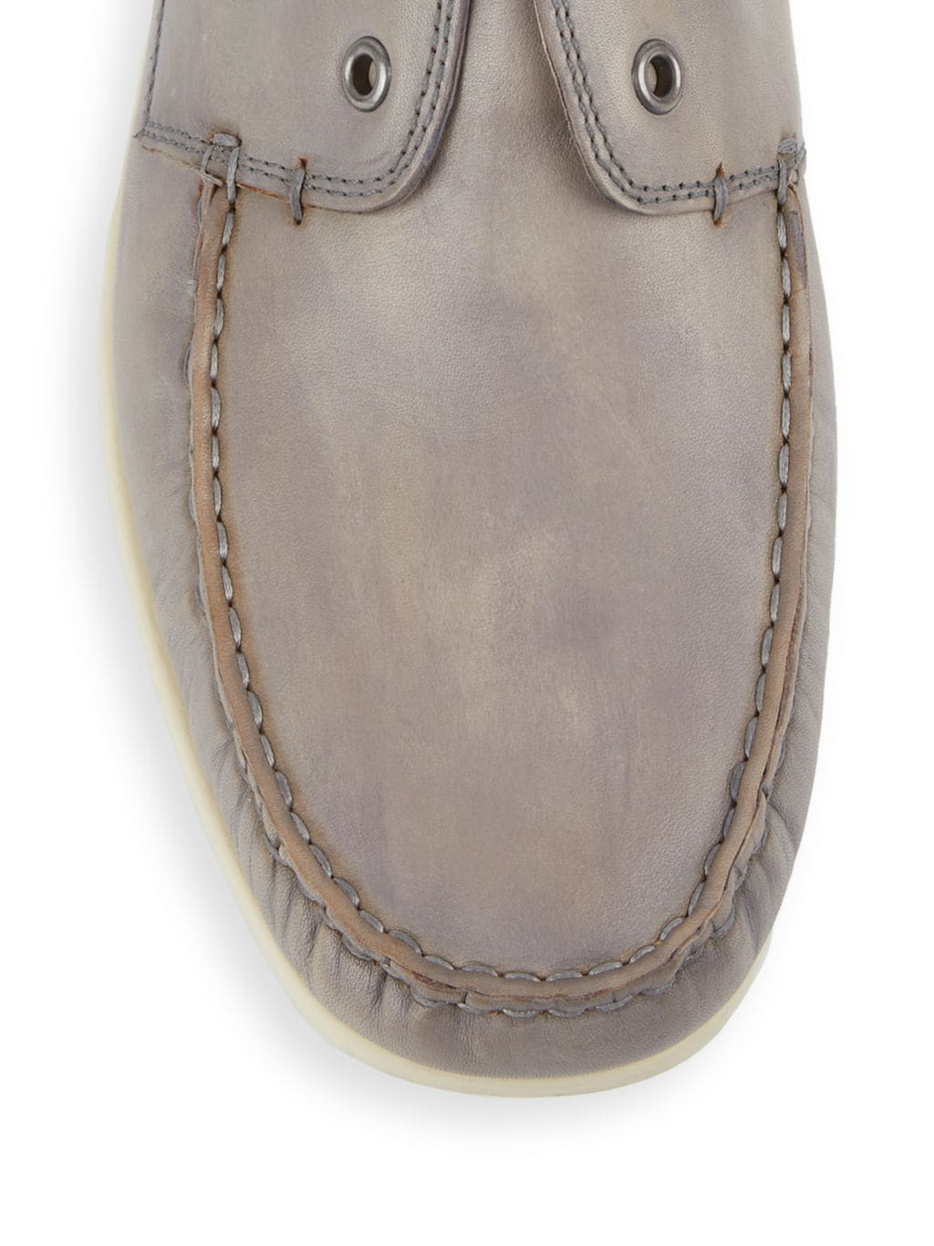 John Varvatos Star S Leather Boat Shoes