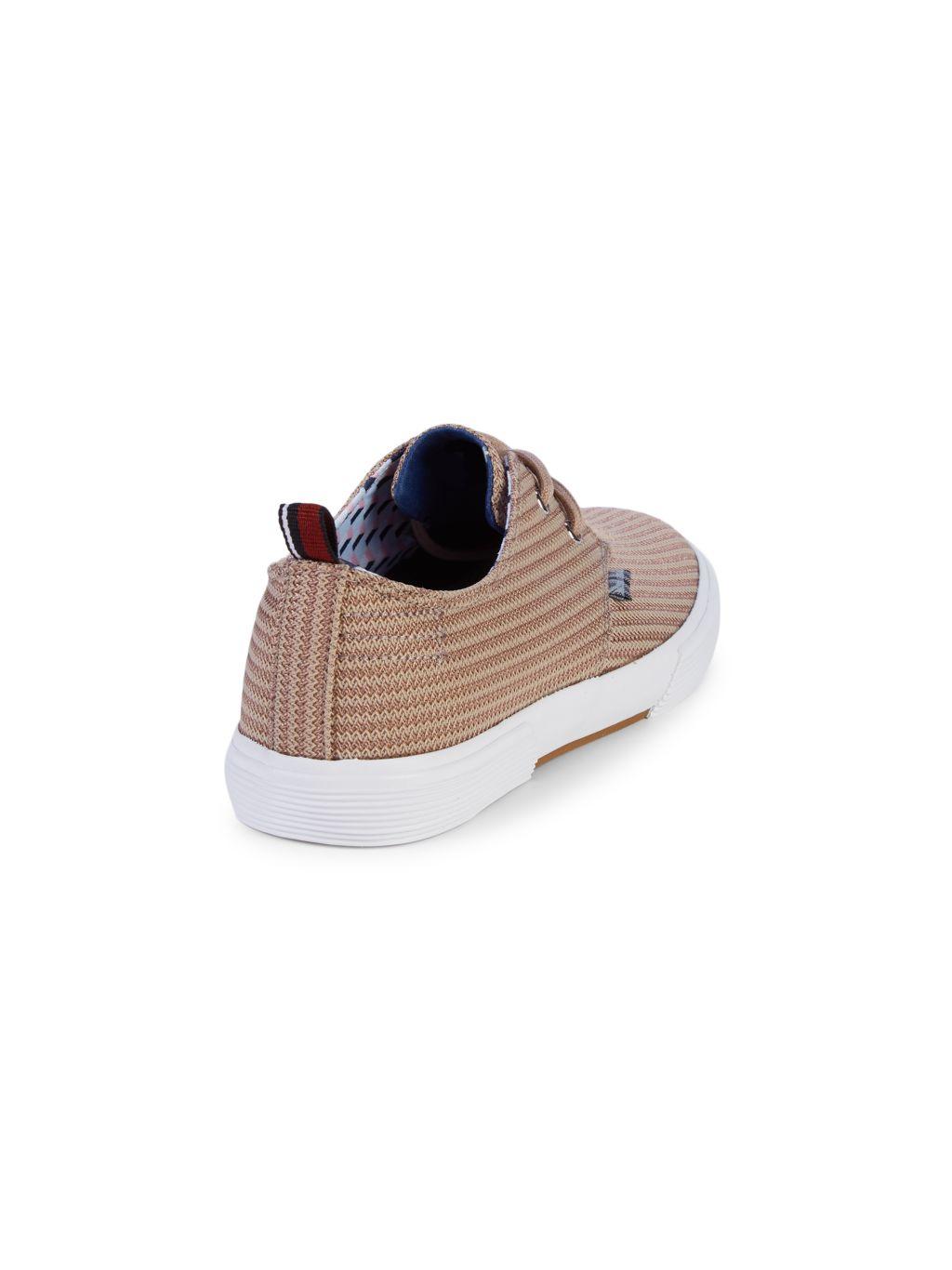 Ben Sherman Bristol Textured Platform Sneakers