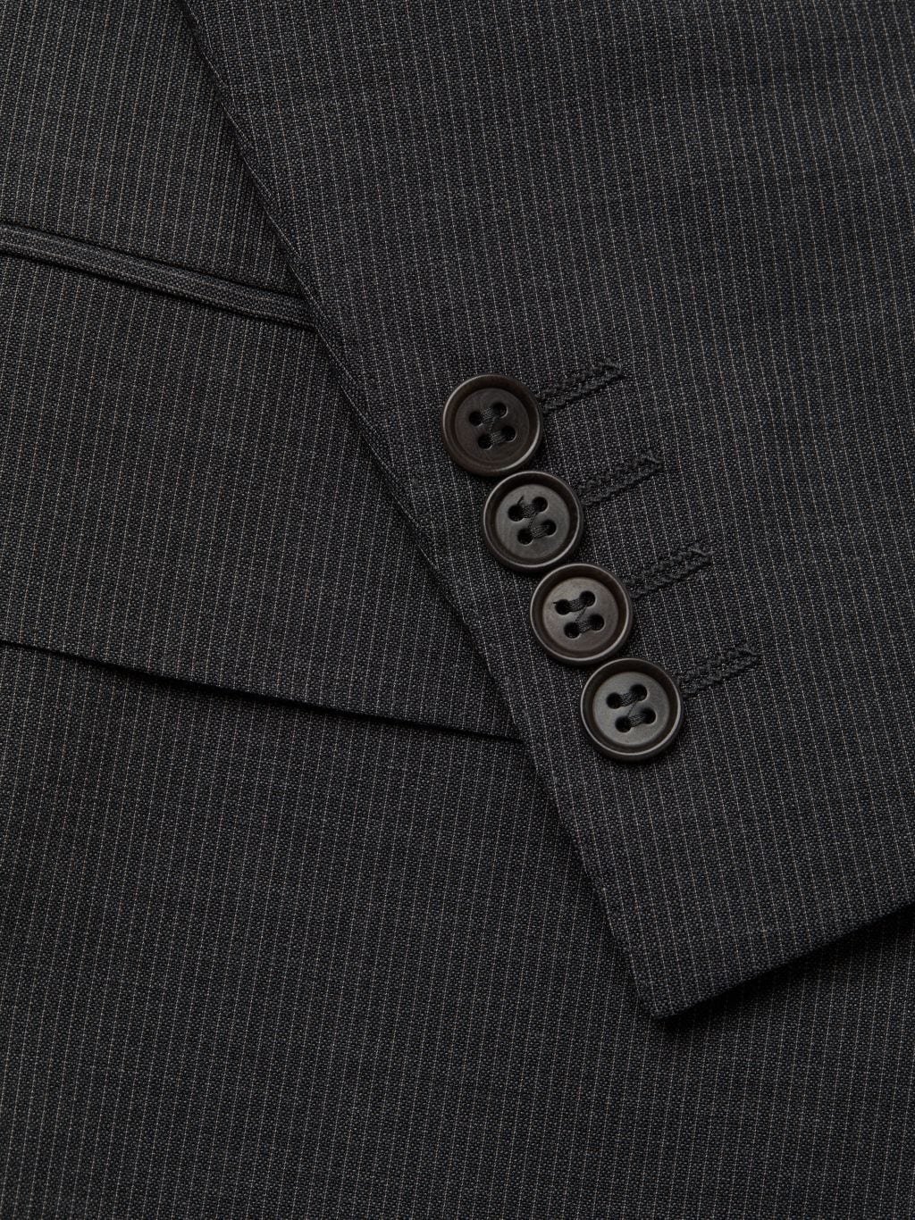Canali Standard-Fit Micro Check Wool Suit